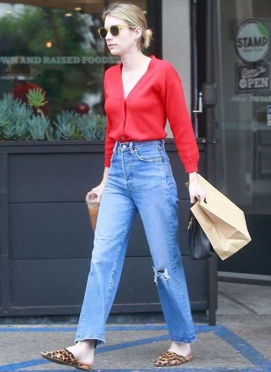 Emma Roberts Casual Street Fashion-7