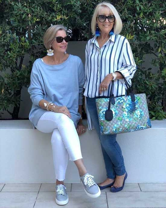 Casual Summer Clothes for Women Over 50-9