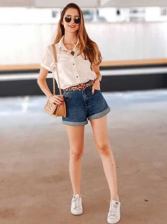 Jeans Short Outfit