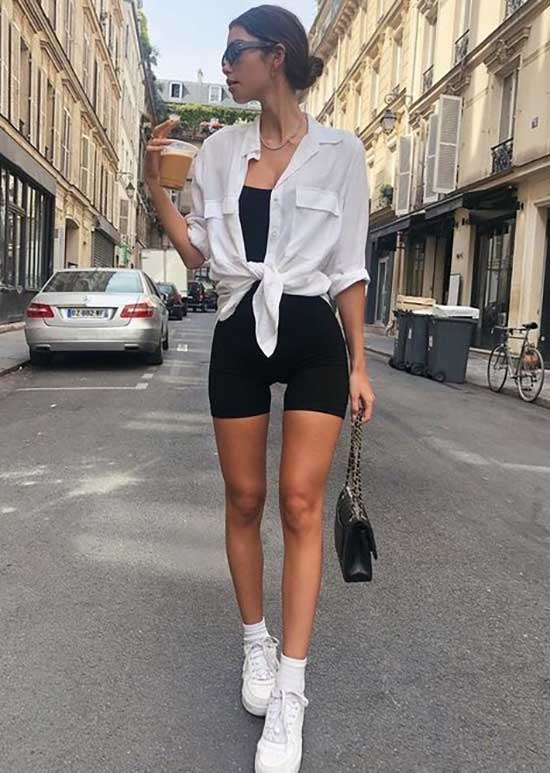 Biker Shorts Outfits