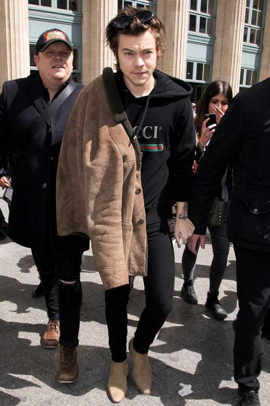 Harry Styles Clothing Style