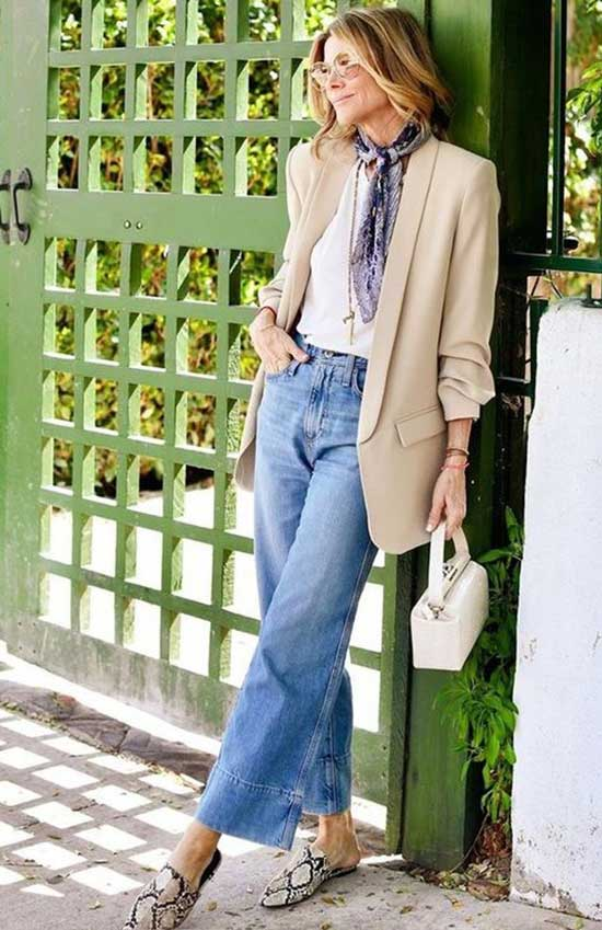 Outfit Ideas for Women Over 40