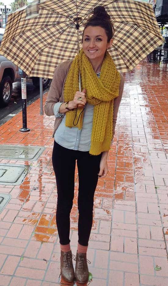 Rainy Day office Outfit