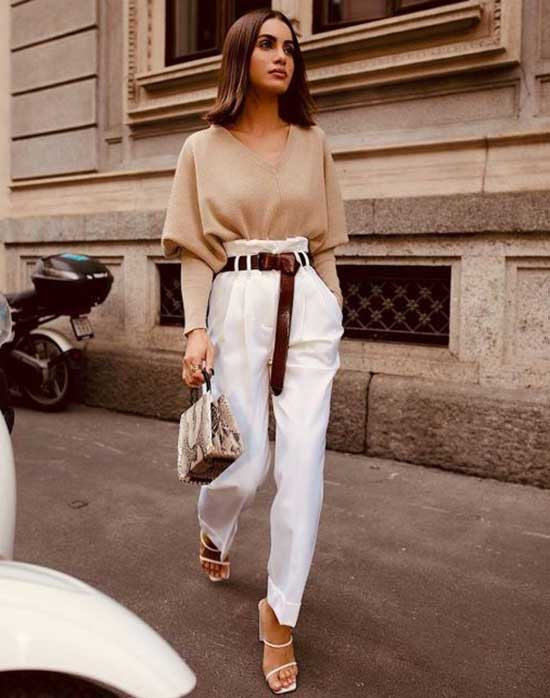 Street Style Casual Chic