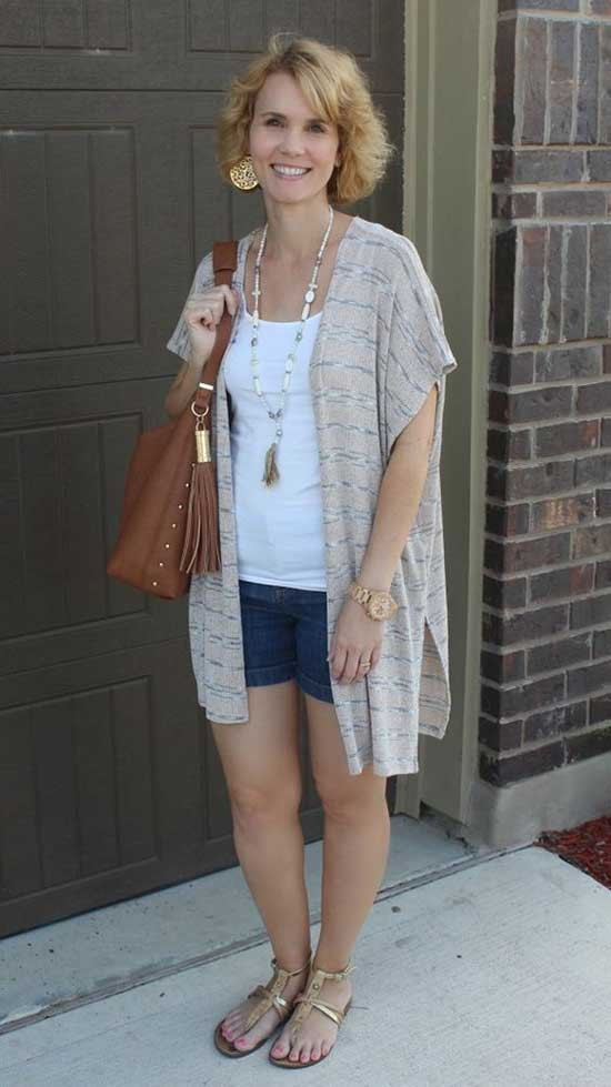 Summer Outfit Ideas for 40 Year Old Woman
