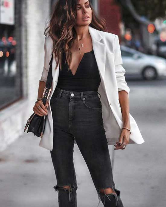 White Blazer Outfit Ideas