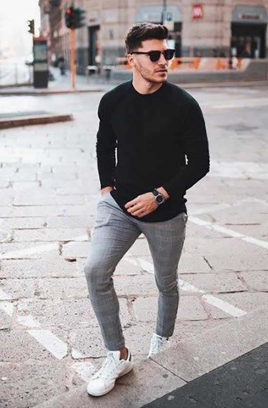 Men's Casual Spring Outfit Ideas-12