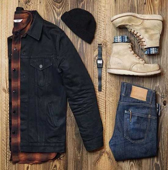 Lumberjack Men's Casual Outfit Ideas-13