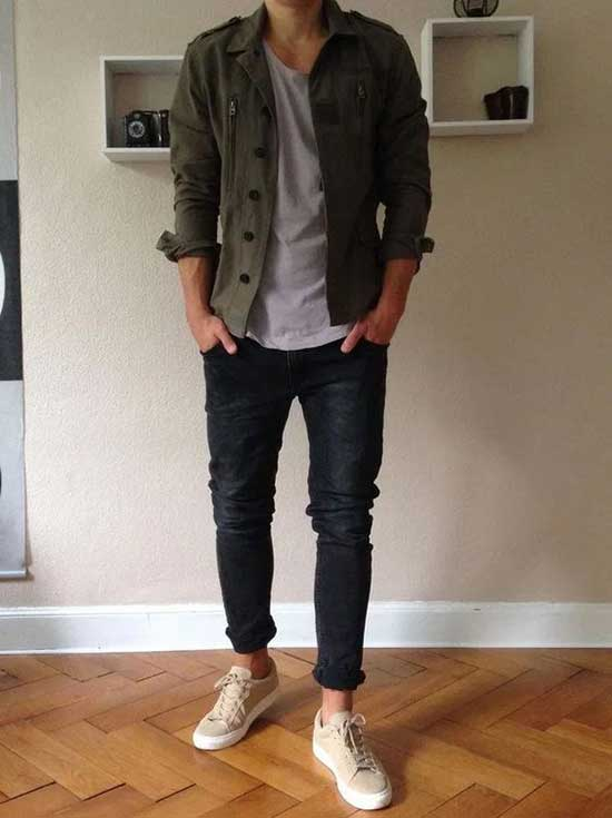 Men's Casual Jacket Outfit Ideas-15