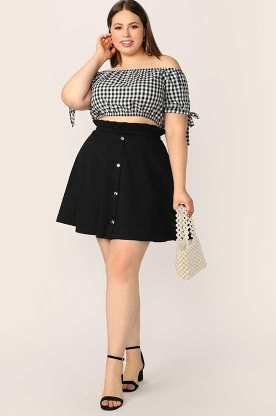 Plus Size School Summer Outfit Ideas-15