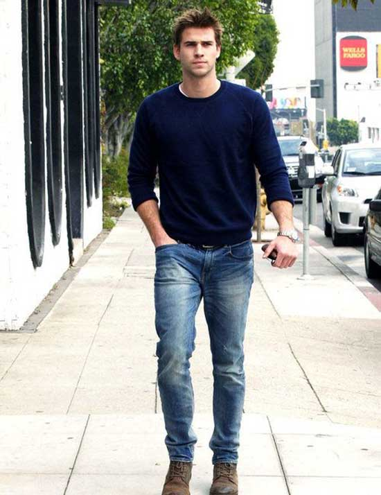 Chris Hemsworth Men's Casual Outfit Ideas-17