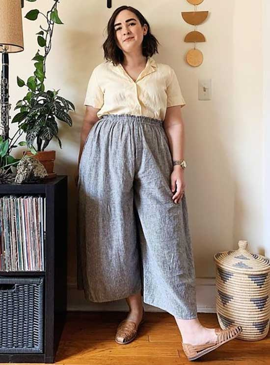 Comfy Plus Size Summer Outfit Ideas-17