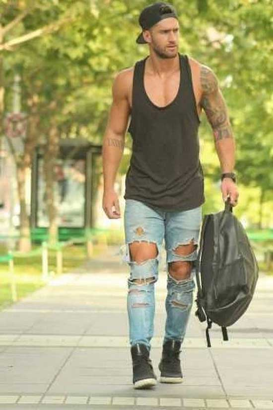 Tank Top Outfits Men-19