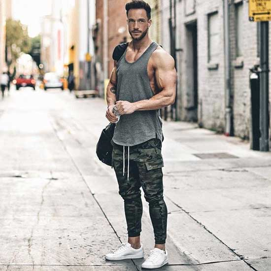 Tank Top Outfits Men-20