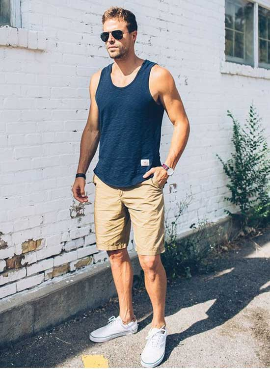 Tank Top Outfits Men-21