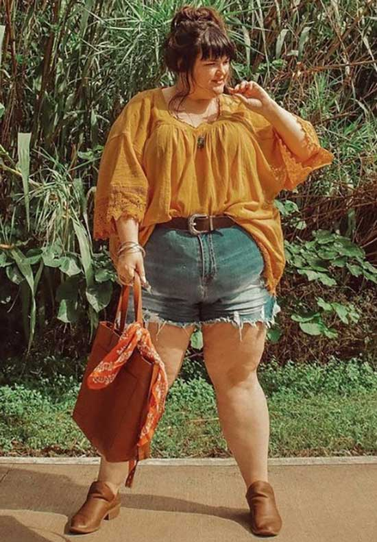 Plus Size Summer Outfit Ideas-22