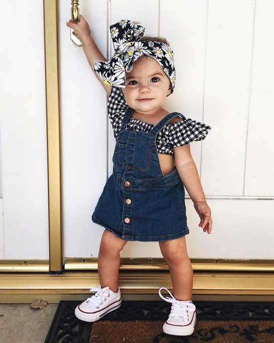 Cute Little Girl Clothes 2020-22
