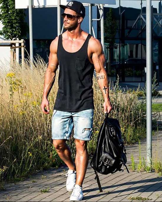 Tank Top Outfits Men-22