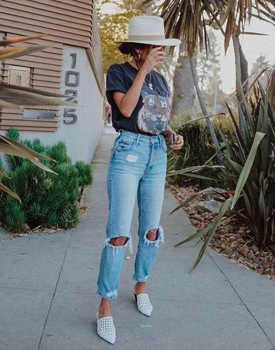 Boyfriend Jeans Outfit Ideas-23