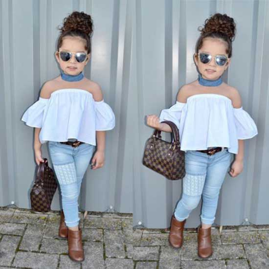 Cute Little Girl Clothes 2020-24