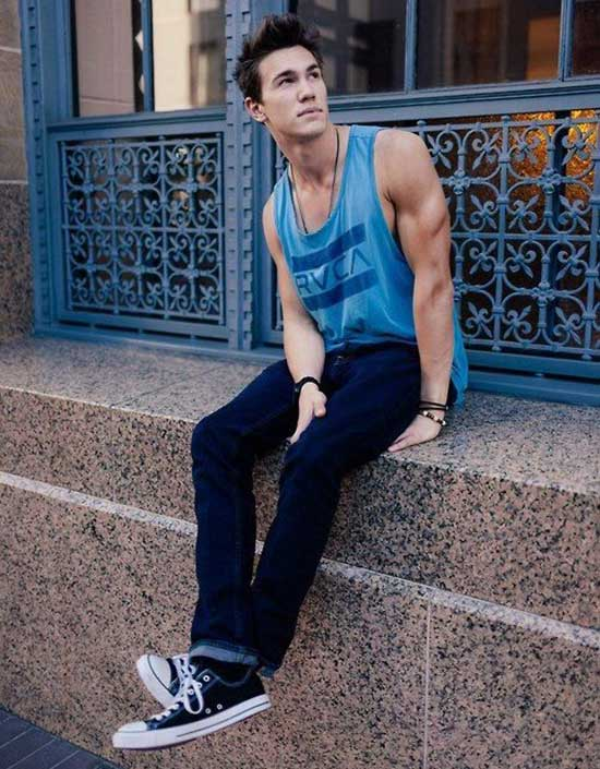 Tank Top Outfits Men-24