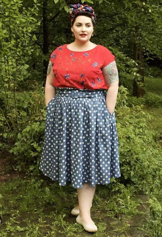 Plus Size Summer Outfit Ideas-26