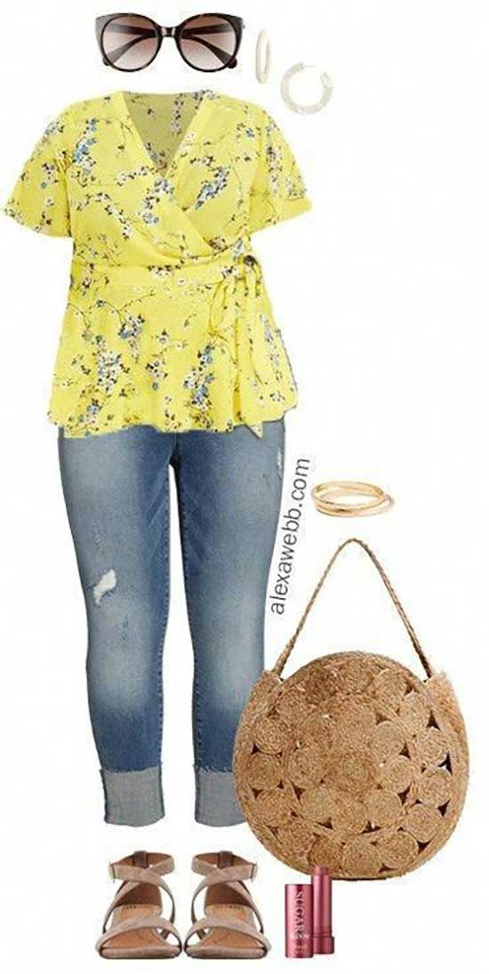 Plus Size Summer Outfit Ideas-28