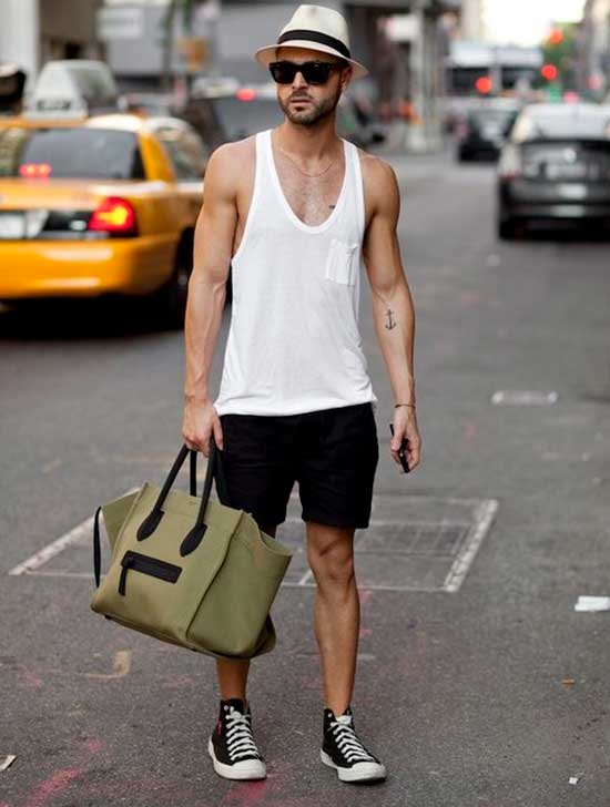 Tank Top Outfits Men-28