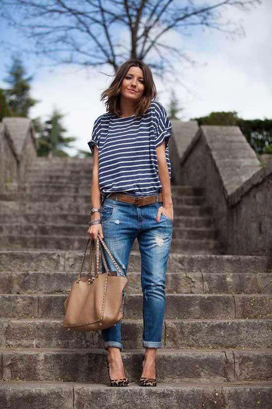 Boyfriend Jeans Outfit Ideas-29
