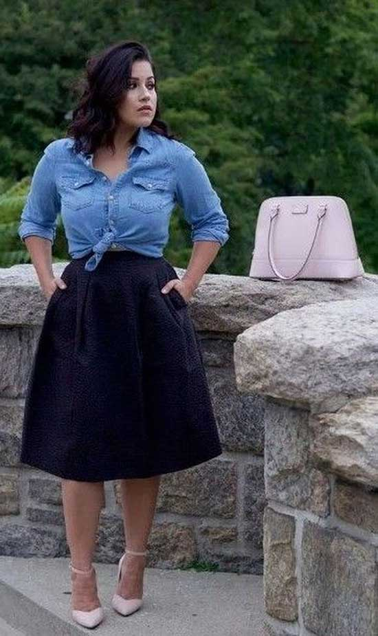 Plus Size Summer Outfit Ideas-31