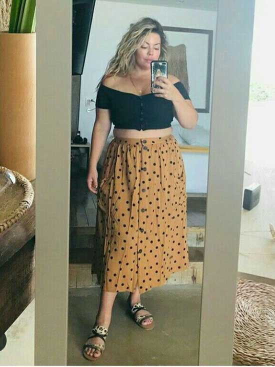 Cute Plus Size Summer Outfit Ideas-6
