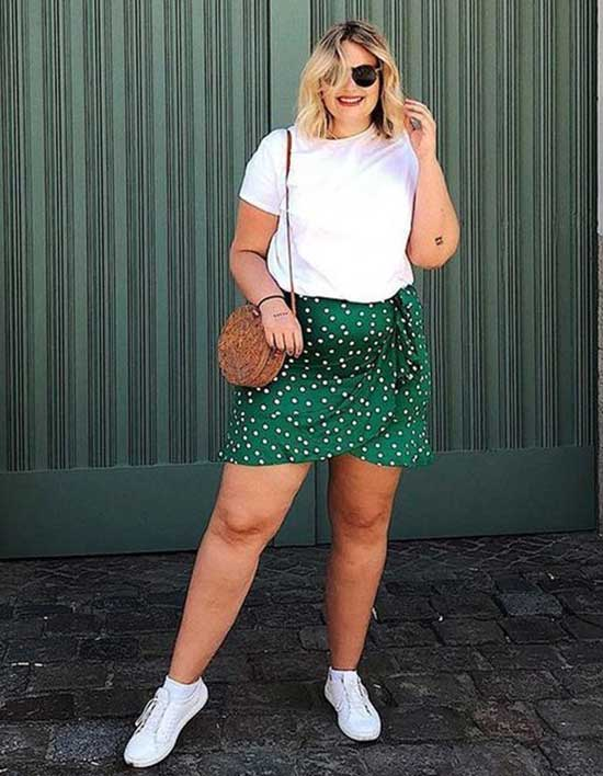 Simple Plus Size Summer Outfit Ideas-7