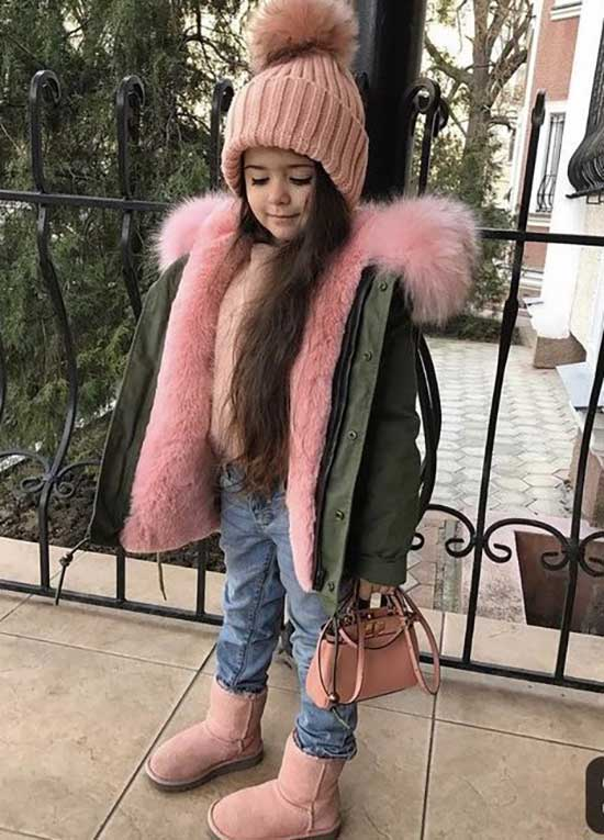 Cute Little Girl Winter Clothes 2020-7