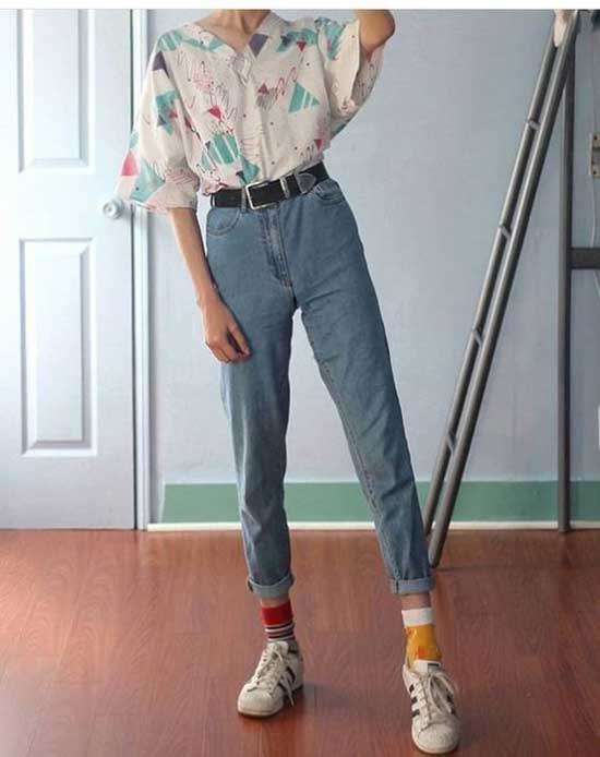 Soft Grunge Mom Jeans Clothing-7