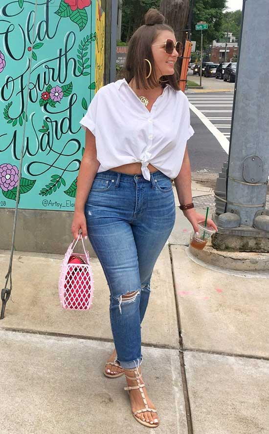 Plus Size Outfit Ideas Summer
