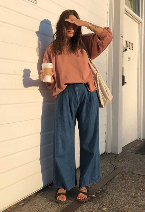 Summer Outfits with Flowy Pants-17