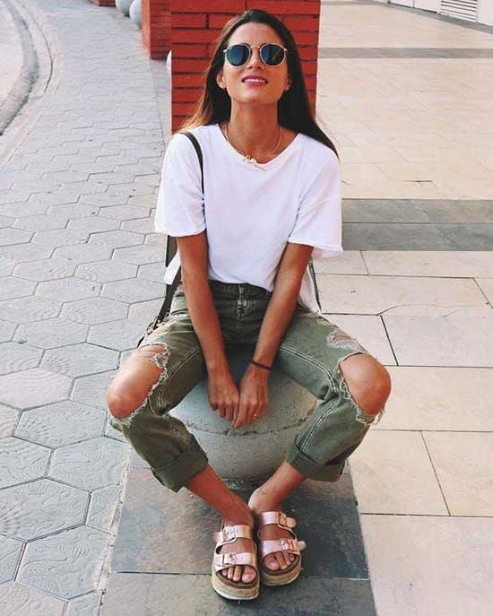 Stylish Casual Summer Outfits-19