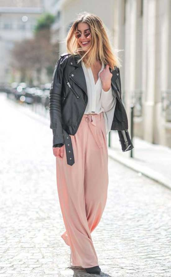 Outfits with Flowy Pants-23