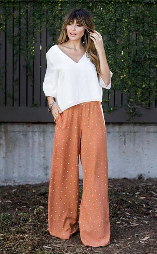 Outfits with Flowy Pants-27