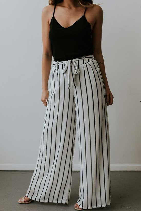 Outfits with Flowy Pants-28