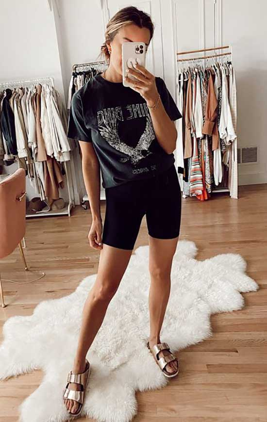 Casual Summer Athleisure Outfits-9