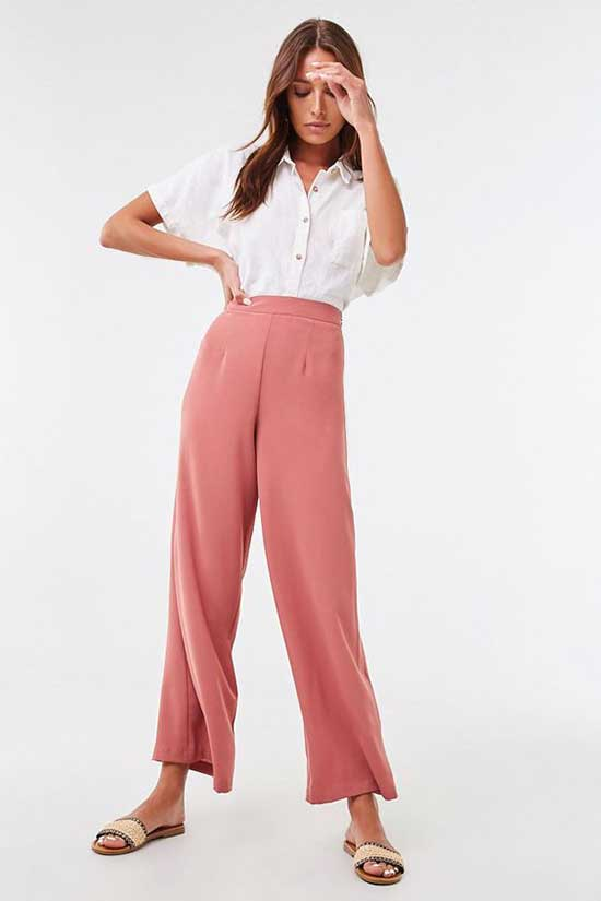 Long Flowy Pants Outfit