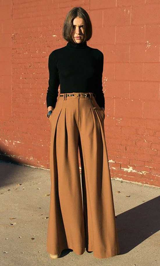 Outfits with Flowy Pants