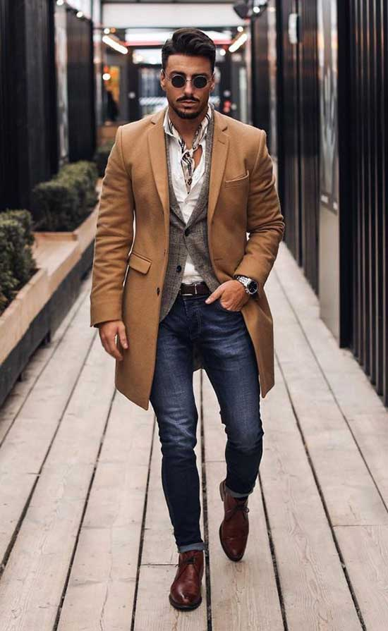 Smart Fall Outfit Ideas for Men-14