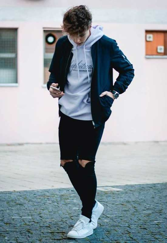 Trendy Fall Outfit Ideas for Men-17