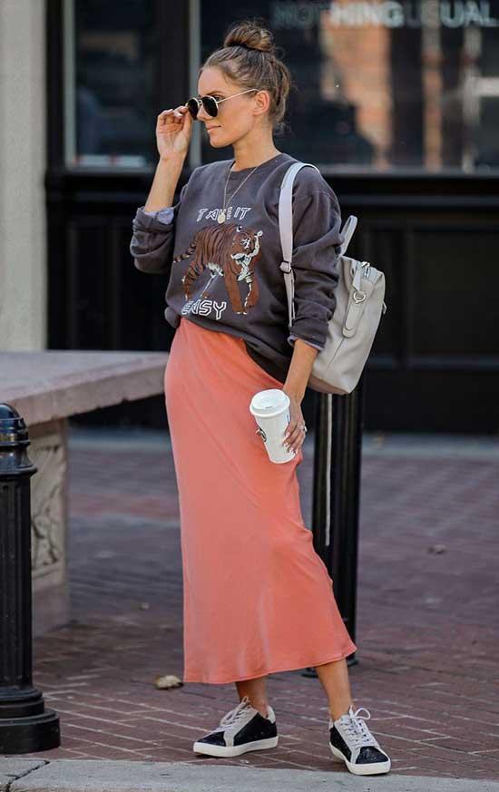 Fall Midi Skirt Outfits-18