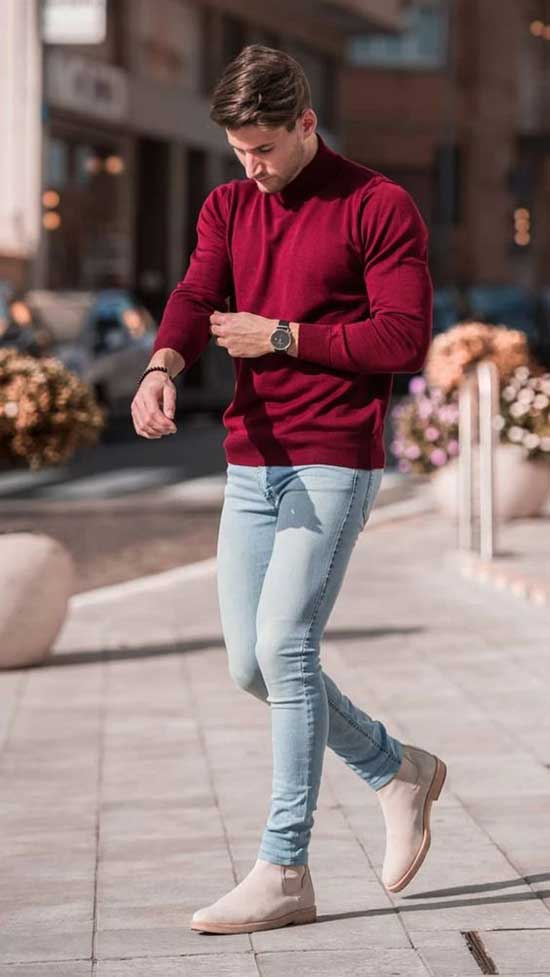 Fall Outfit Ideas for Young Men-19