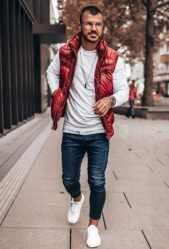 Fall Jacket Outfit Ideas for Men-6