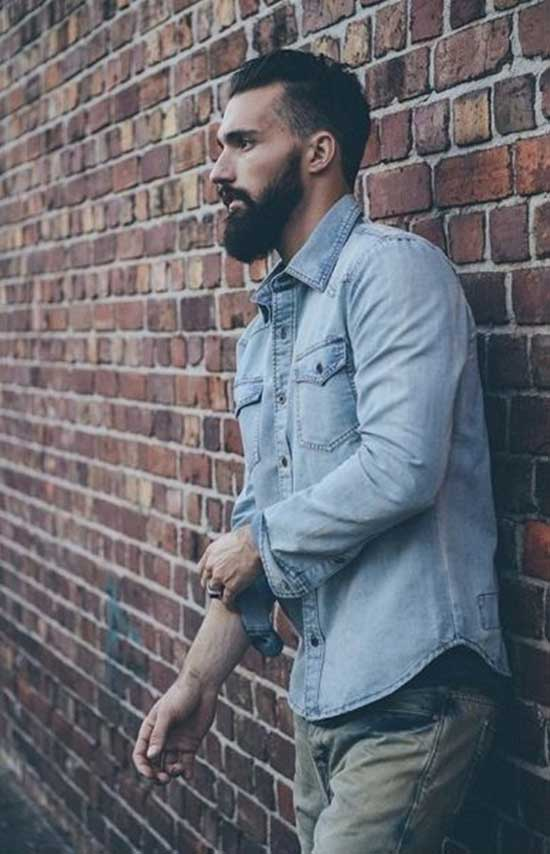 Fall Denim Outfit Ideas for Men-9
