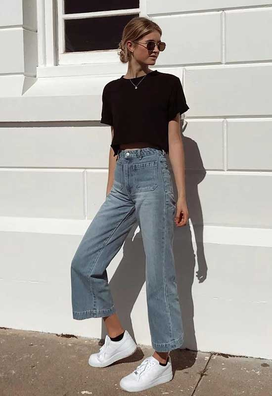 High Waist Jeans Fashion